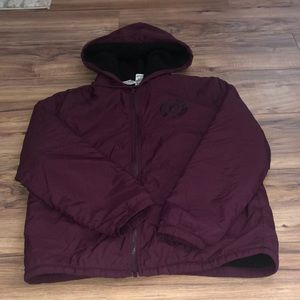Pink Anorak jacket with Sherpa